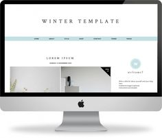Download Winter the #Blogger #Template | Winter is a chic premade Blogger template by @kaybrighton that is super easy to install!