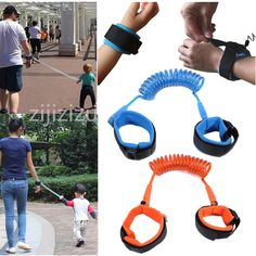 spring leash wrist strap toddler safety baby harness reins childrens UK