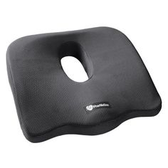 PharMeDoc Coccyx Seat Cushion -Sciatica Pillow for Back Pain - #1 Memory Foam Pillow for Sciatica Relief - New & Improved 2016 Design - Car Seat Cushion / Wedge - Office, Travel, Wheelchair & more - Walmart.com