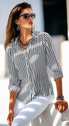 More Madeleine Spring Arrivals Fashion Over 50, Teen Fashion, Fashion Looks, Fashion Outfits, Womens Fashion, Look Legging, Madeleine Fashion, Stitch Fix Outfits, Cute Blouses