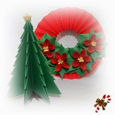 Cantinho da Juju!: Natal em origami!