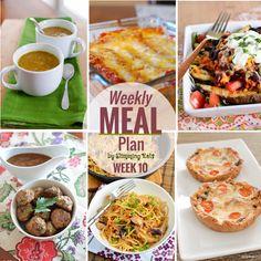 Slimming Eats Weekly Meal Plan – Week 10