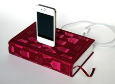 iPhone and iPod Book Charging Dock - Bleak House Charles Dickens