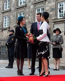 Royal Family Around the World: The Danish Royal Family Attend Parliaments Celebration Of Reformation 500th Anniversary on October 31, 2017 in Copenhagen, Denmark.