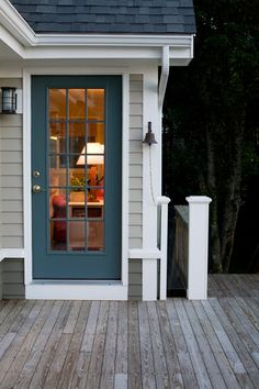The Porch | Decking, Doors and Deck lighting