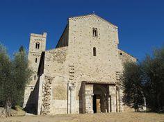 Abadia de Sant'Antimo - canto gregoriano na Toscana