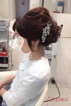 ドレスから和装へ♡笑顔溢れる華やかホテルウエディング♡ の画像|大人可愛いブライダルヘアメイク『tiamo』の結婚カタログ