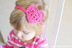 Heart Headwrap | 25 Beyond-Adorable DIY Baby Gifts