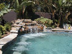 Pool Rock Waterfalls