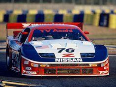 1994 NISSAN 300ZX GTS TWIN TURBO Cunnngham Racing Factory Nissan Team IMSA GTO Challenge Race Car