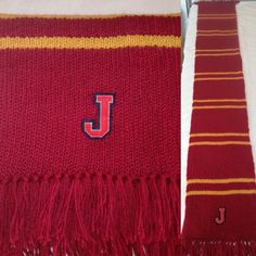knitted Harry Potter scarf for Jasmin Harry Potter Scarf, Blanket, Blankets, Cover, Comforters