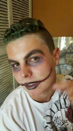 My boyfriend decided on The Joker for Halloween