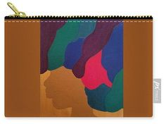 Carry-All Pouch - Mardi Gras Afro