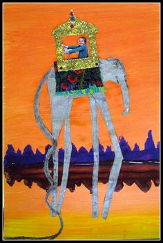 surreal art projects for kids | This Salvador Dali project is a two day lesson plan.
