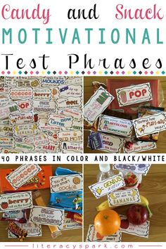 Are you looking for ways to motivate your students during testing season? Testing Treats For Students, Student Treats, School Treats, Student Gifts, School Snacks, Staar Test, Test Day, Student Motivation, Motivation Quotes