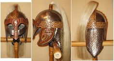 Awesome looking scale helm