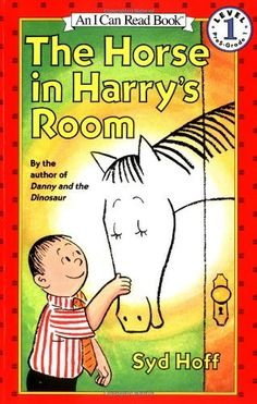 The Horse in Harry's Room (Level 1) by Syd Hoff, http://www.amazon.com/dp/0064440737/ref=cm_sw_r_pi_dp_an0Srb0ZZQ58W