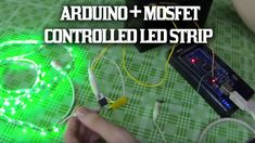 A simple guide to controlling 12 volt LED strips from your Arduino using an N Channel Mosfet.