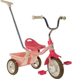 Italtrike Classic Transporter Passenger Tricycle - Rose Garden Pink