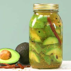 Here's a unique spin on the classic pickle recipe. Use avocados instead of cucumbers. These go great on burgers and sandwiches, and stand...