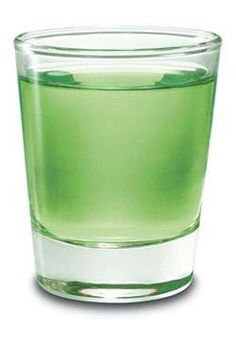 sour apple drop | 1 part(s) Absolut Vodka - (more)  1 part(s) DeKuyper Pucker Sour Apple Schnapps - (more)  Instructions    Shake with ice and strain into a shot glass.
