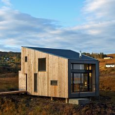 Fiscavaig Project by Rural Design is a small timber house on the Isle of Skye in Scotland