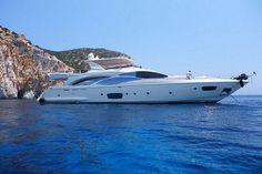 Motor yacht Jester is based in Athens however provides yacht cruises to Turkey, Croatia and the Greek Islands.  The 4 cabin Jester motor yacht presents a modern décor, combining a lovely style and comfort for your motor yacht charter guests on board. She can accommodate up to 8 guests. / http://yachtsngulets.com/jester-motor-yacht.html