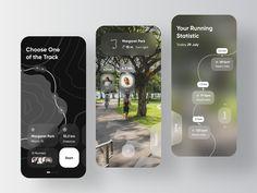 Location Based Service, Mobile Design, Design Development, Ui Ux, Public Transport, Mobile App, Fitness App, Health Care, Running