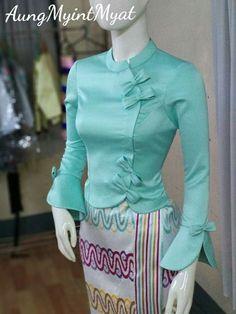 Skirt Fashion, Fashion Dresses, Traditional Dresses Designs, Myanmar Dress Design, Muslin Dress, Myanmar Traditional Dress, Rajputi Dress, Future Fashion, Trendy Dresses