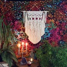 Excited to share the latest addition to my shop: Large Macrame Wall Hanging Tapestry Boho Wall Decor Bohemian Wall Tapestry Boho Decor Bohemian Art Macrame Hanging Hippie Decor