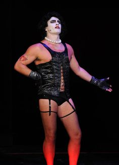 Julian McMahon (EXCLUSIVE COVERAGE) Actor Julian McMahon performs onstage during The Rocky Horror Picture Show 35th anniversary to benefit The Painted Turtle at The Wiltern on October 28, 2010 in Los Angeles, California.