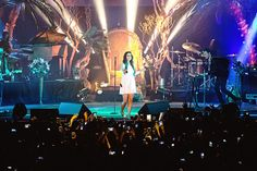 The audience will sing along a lot.   15 Things That Happen When You Go To A Lana Del Rey Concert