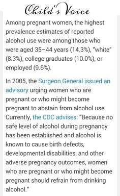 FASD Awareness and prevention