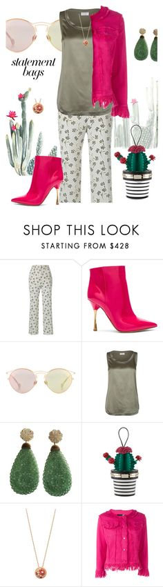 """Cactus"" by sara-cdth ❤ liked on Polyvore featuring Prada, Valentino, Christian Dior, Brunello Cucinelli, Giulia Colussi, Kate Spade, Cartier and Love Moschino"