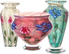 Vases and bowls by Doug Merritt