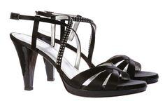 Les Sandalettes noir Elégance de la Boutique Elegance Paris prix 379,00 € TTC