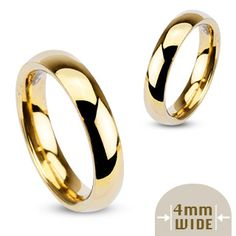 Snubní prsteny z chirurgické oceli R002-4