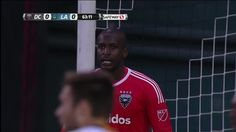 #MLS  SAVE: Bill Hamid taps Dave Romney's header over the bar