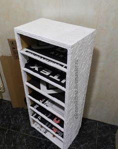 ПОДРОБНЫЙ МК! высокий комод из картона - Ярмарка Мастеров - ручная работа, handmade