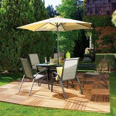 Repinned: 30 Ideas To Use Wood Decking On Patios And Terraces | Shelterness