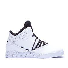 SUPRA ESTABAN   WHITE / BLACK - WHITE   Official SUPRA Footwear Site Supra Sneakers, Supra Shoes, Work Sneakers, Supra Footwear, Adidas Sneakers, Men's Wardrobe, Sneaker Boots, Shoes Online, Zapatos