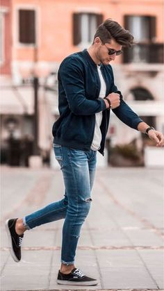 58 Stylish Business Casual Outfit for Men in Fall - Beautifus Stylish Men, Men Casual, Casual Menswear, Casual Styles, Casual Winter, Outfit Stile, Herren Style, Herren Outfit, Mens Fashion Suits