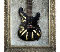 Quadros com guitarras customizadas by rvalentim
