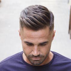 Novas idéias para cortes de cabelo e penteados de homens para 2018 - frisuren - Cabelo Mens Hairstyles Fade, Cool Hairstyles For Men, Popular Hairstyles, Classic Hairstyles, Black Hairstyles, Mens Hair Fade, Pompadour Hairstyle For Men, Mens Wedding Hairstyles, Short Hair Hairstyle Men