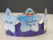 Prince/Princess of Punctuation.  Give the crown to a student you notice using proper punctuation.