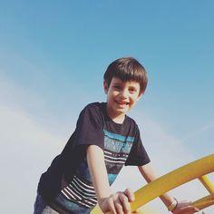 ...Felicidad de niñez una de las mejores de la vida #cosasdepapa
