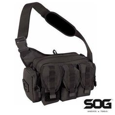 In Stock - SOG Tactical Responder Shooting Range Bag MOLLE Equipped - $19.99   Free S/H over $35