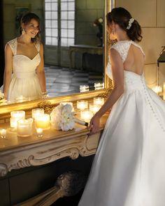 Ten figure flattering wedding dresses to suit every shape