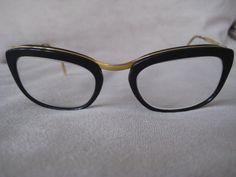 Vintage '60's horn rimmed glasses