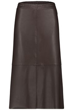 Penn & Ink N.Y Damen Kunstlederrock Dunkelbraun | SAILERstyle Leather Skirt, Skirts, Ink, Fashion, Dark Brown, Get Tan, Nice Asses, Moda, Fashion Styles